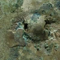 緑松石象嵌鋸歯縁鏡-4