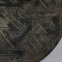 多紐粗紋鏡-2
