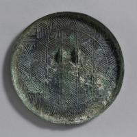 多紐粗紋鏡-1
