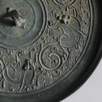 五獣紋鏡-2
