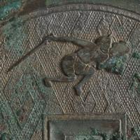 狩猟紋鏡-3