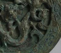 龍紋透彫鏡-2
