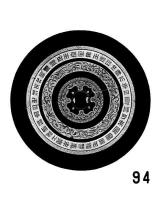 鍍金細線式獣帯鏡-3