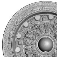 環状乳神獣鏡-4