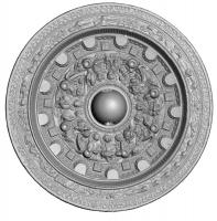 環状乳神獣鏡-3