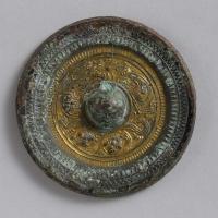 鍍金盤龍鏡-1