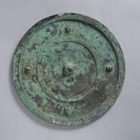 四葉座素紋鏡-1