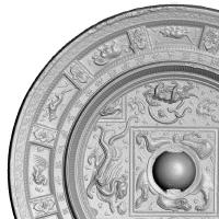 四神十二支紋鏡-4
