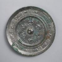 瑞鳥瑞獣紋鏡-1