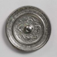 迦陵頻伽鳳紋鏡-1