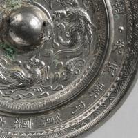迦陵頻伽鳳紋鏡-2