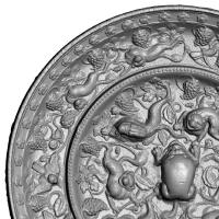 海獣葡萄鏡-4