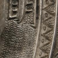 貼銀五瑞獣紋鏡-3