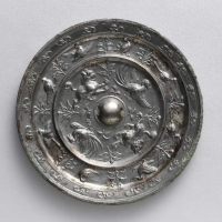 双獣双鳳紋鏡-1
