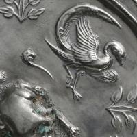 双獣双鳳紋八稜鏡-3