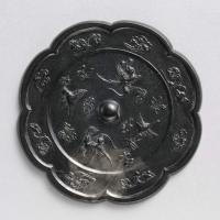 瑞鳥紋八花鏡-1