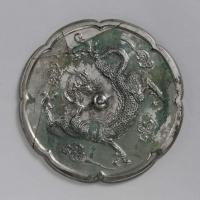 雲龍紋八花鏡-1