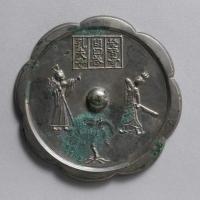 三楽鏡(孔子栄啓奇問答鏡)-1