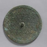 斜格乳釘紋鏡-1